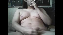 wanking while smoking