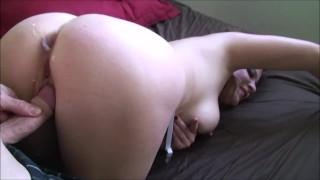 Screen Capture of Video Titled: Computer repairman creampies busty webcam model Erin Electra