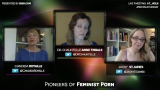 Pioneers of Feminist Porn with Candida Royalle and Jacky St. James Sneezing japanese