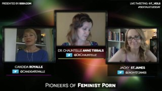 Pioneers of Feminist Porn with Candida Royalle and Jacky St. James Hilarious csi