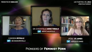 Pioneers of Feminist Porn with Candida Royalle and Jacky St. James Funny