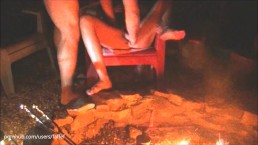 Campfire exting-gusher!!
