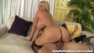 Voluptuous MILF Has Sex With Step-son! Mother fake