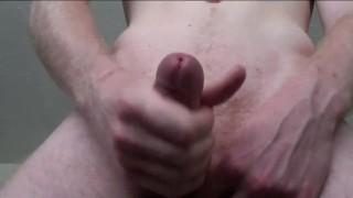 Cumming on closeup camera my view balls