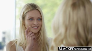 Blonde rae bbc cadence a alli bffs share blacked lux and huge black pussy