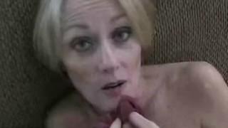 Amateur GMILF Creampie porno