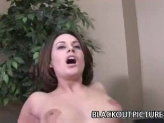 Scarlett Envy - Beautiful Teenager Taking On A Think Black Dong
