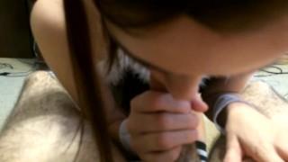 Screen Capture of Video Titled: Blowjob Bunny