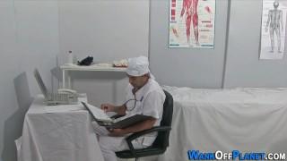 Uniformed doc cock jizzed Gay sclip