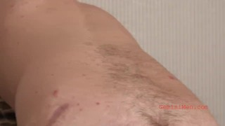 Alex's Audition- Young Straight Man Shows Cock, Ass, and Jerks Off