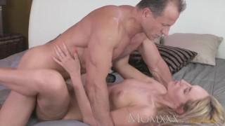 Guys with and body blonde stunning amazing cock fucks milf mom sucks hard boobs riding