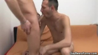 Hairy Guys Starts It With Blowjobs