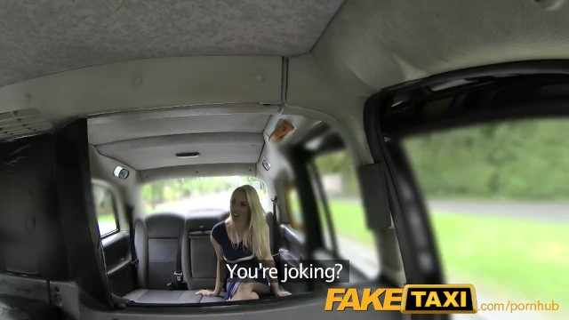Think, that faketaxi rebecca blonde new have quickly