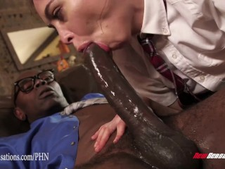 New Sensations - Hotwife Riley Reid First Interracial with Sean Michaels