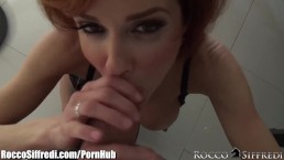 RoccoSiffredi Veronica Avluv Squirts from Ass Play