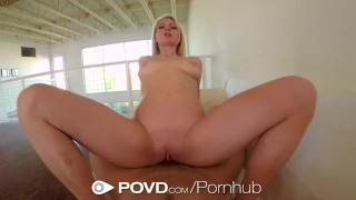 Allie pink pussy fucked style povd blonde her gets rae pov style pov