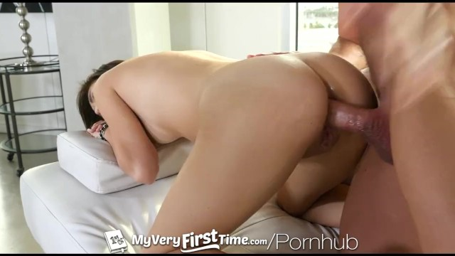 MyVeryFirstTime - New Uncensored Version- Kimberly Costa first anal 11