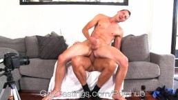 Cute Guy Fucked by Creepy Casting Huge Cock