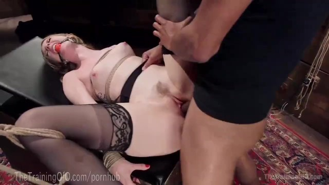 Lesbian girl gets every hole licked Bondage slave gets every hole filled