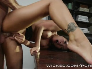 Wicked – Asa Akira gets fucked in the office