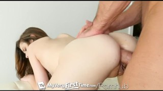 Struggles anal mae penetration ever with first her alex myveryfirsttime redhead ass
