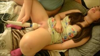 Making Abby Cum
