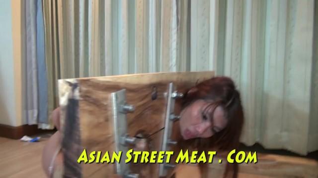 Treatment feline anal sacs Bangkok room maid buggered for new handbag