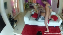 More behind the scenes fun with Vyxen and Kota