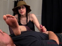 Sweaty Foot Smelling Handjob and Blowjob Trailer