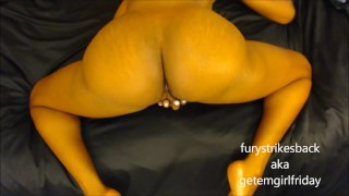 Squirting hurricane pov massive fury ass from fucking masturbation pussy