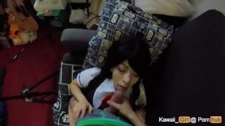 Kawaiigirl cosplay fun misaki oral teen