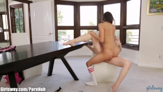 Naughty Latina Schoolgirl Punished and Squirting