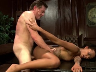 Leon team ceo pays for sex interracial perfect...