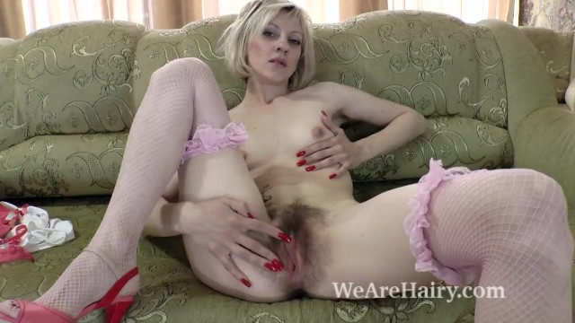 Natural hairy asian - Sandy may is all natural and orgasms after playing