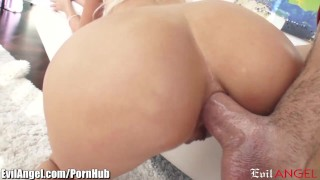 Sloppy evilangel riley pov jenner throating and anal fuck blowjob