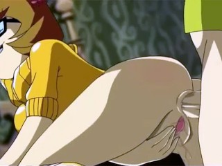 Scooby Doo Porn Velma likes it in the ass