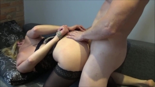 Beautiful brutal cum fuck has squirting slave hard two during squirt orgasm
