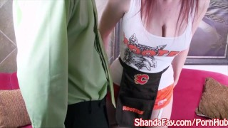 Sucks shanda tip for big sexy fay girl hooter's a tits huge
