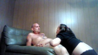 Late night sex with my pigtail GF... HOT