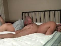Men Over 30 Jake Jennings & David Chase Breaking The New Bed