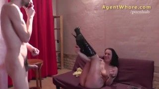 Erotic shy wild stranger cougar show for does agentwhore the