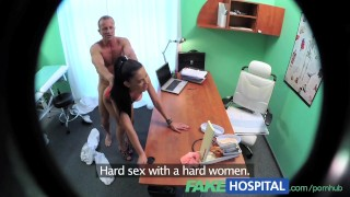 Strike fakehospital doctor lady makes deal as cum a they sexy sales twice blowjob clinic