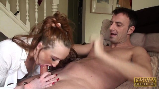 Vintage mens clothing coats Ginger slut sabrina jay gets throated and coated with cum