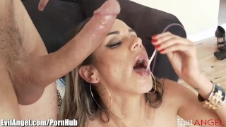 EvilAngel Slutty MILF Anal Riding