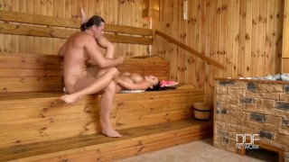 Sauna in babe pattty fucks slovak michova tits play