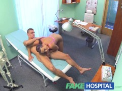 FakeHospital Ripped stud gets the nurses special treatment