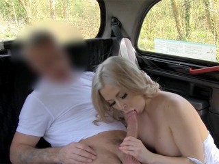 FakeTaxi Beautiful Blonde gets fucked by taxi driver
