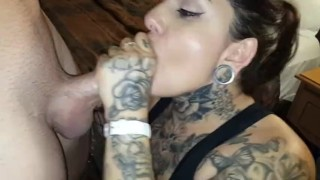 Crystal Bandida Solo Blow Job - Blowing My Man's Friend