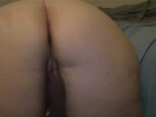 Dildo from Behind-Just a Taste