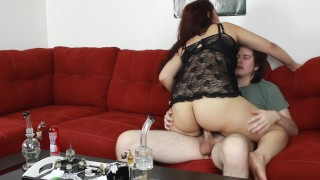 Screen Capture of Video Titled: Daisy gets high and pleases her man